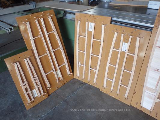 Even more Wooden Wonder components