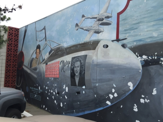 Rankin Aeronautical Academy Mural by Colleen Veyna--Nick Veronico image