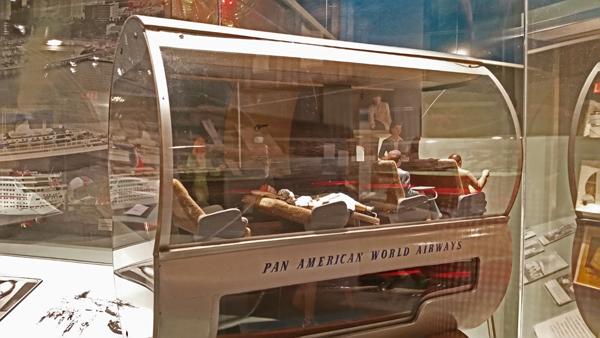 Boeing Pan Am 307 Stratoliner section model at HistoryMiami—Joseph May:Travel for Aircraft