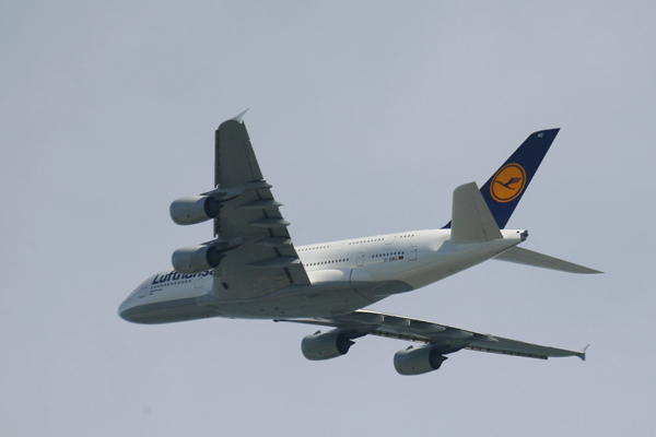 Airbus A380 flown by Lufthansa--Joseph May:Travel for Aircraft