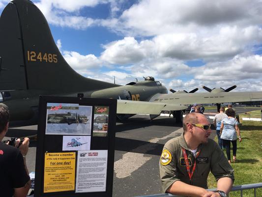 "Boeing B-17G Flying Fortress ""Sally B""—© Michael Dowman 2016"
