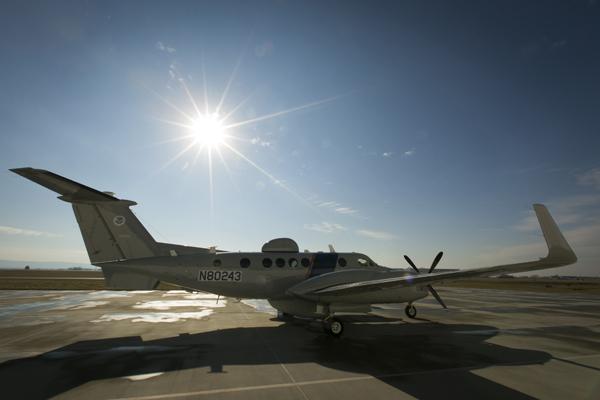 blog Beechcraft Super King Air 350 ER flowng by CPB as their MEA by CBP 13081247855_d1d59a518f_o