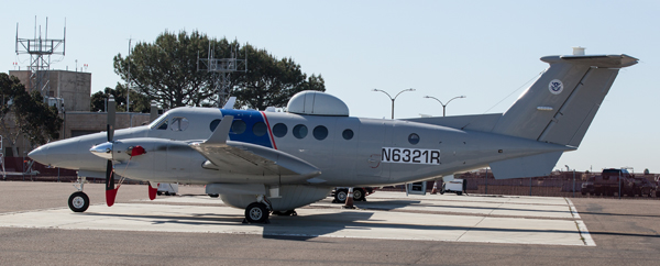 This is a new CBP Plane that does aerial surveillance.