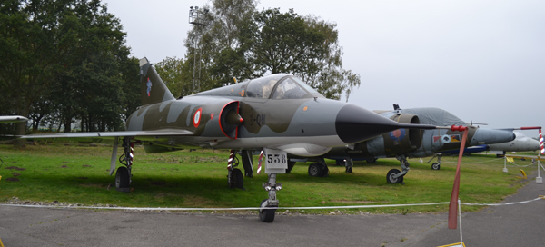 Dassault Mirage IIIE—image copyright by Ross Sharp airshowconsultants@gmail.com