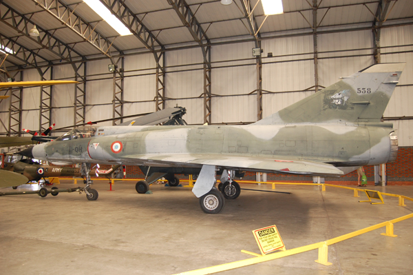 Dassault Mirage IIIE—image copyright by Ross Sharp