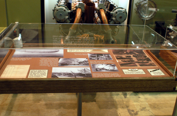 DAYTON, Ohio -- Roma exhibit on display in the Early Years Gallery at the National Museum of the United States Air Force. (U.S. Air Force photo)