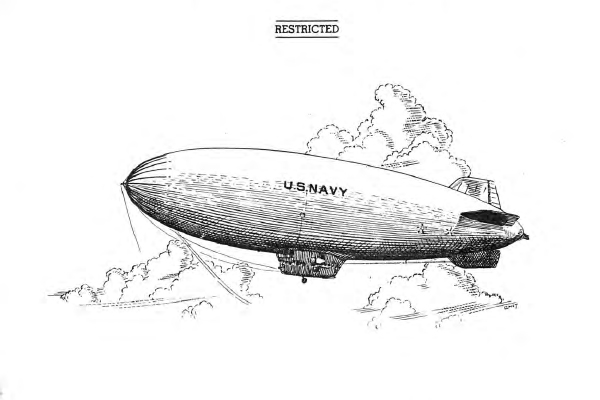 United States Navy K-Type Airships: Pilot's Manual cover page detail