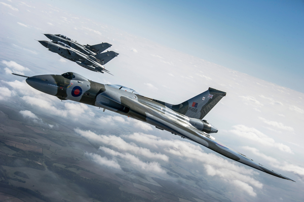 Tornado Send Off For Vulcan