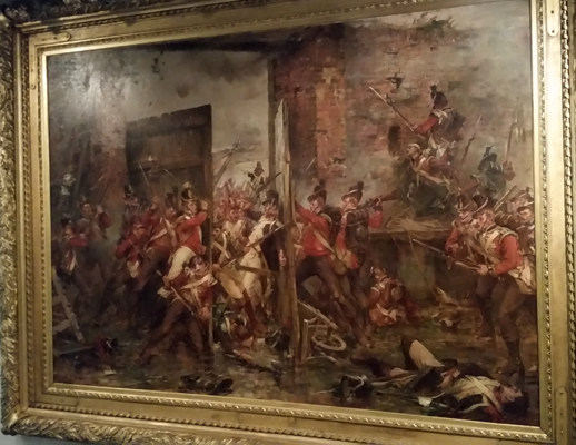 blog-closing-of-the-gates-at-hougoumont-by-robert-gibb-1903-of-the-1825-battle-of-waterloo-national-war-museum-of-scotland-20170209_123736