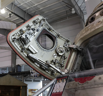 Apollo 11 Command Module — photo by Joseph May