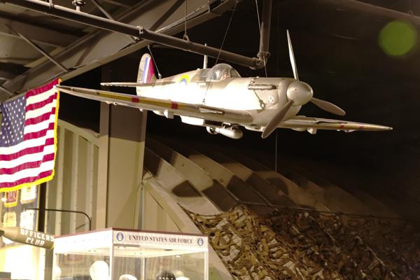 Spitfire w bomb — photo by Joseph May
