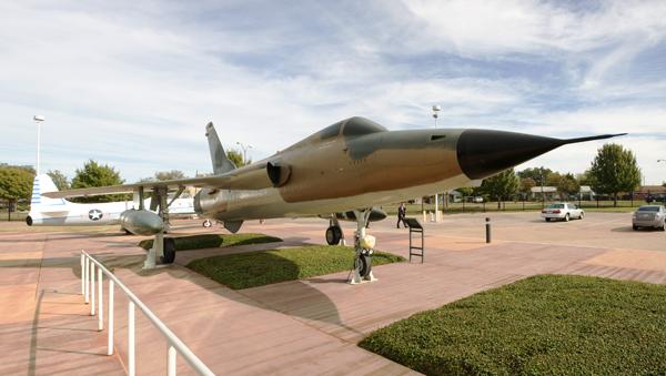 Republic F-105 Thunderchief — photo by Joseph May