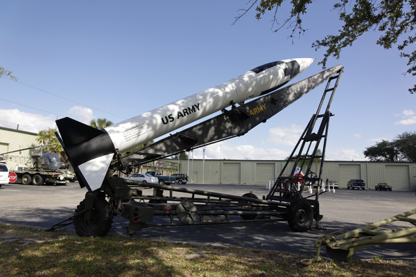 Honest John atomic tipped rocket — photo by Joseph May