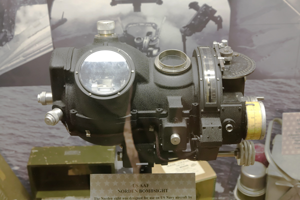 Norden bombsight — photo by Joseph May