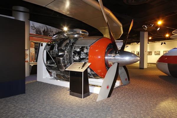 Wright R-3350 engine — photo by Joseph May