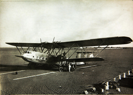 Hannibal, H.P.42 — photo from San Diego Air & Space Museum archive