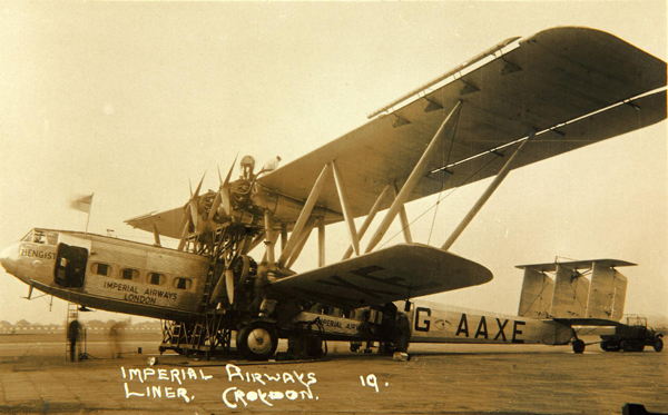 Hengist, H.P.42 — photo from San Diego Air & Space Museum archive