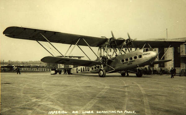 Horatius, H.P.42 — photo from San Diego Air & Space Museum archive
