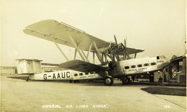 Horsa, H.P.42 — photo from San Diego Air & Space Museum archive