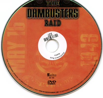 The Dambusters Raid, 1998, produced by INCA, DVD 48 minutes