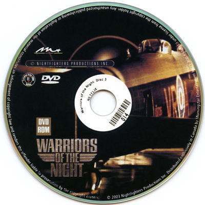 Warriors of the Night Disc 3: Bonus Material, 2003, DVD, 78 minutes