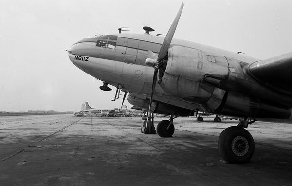 Curtiss C-46 Commando — photo by Joseph May