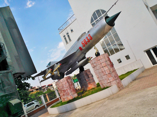 MiG 21 — photo by Catherine Dowman ©2013
