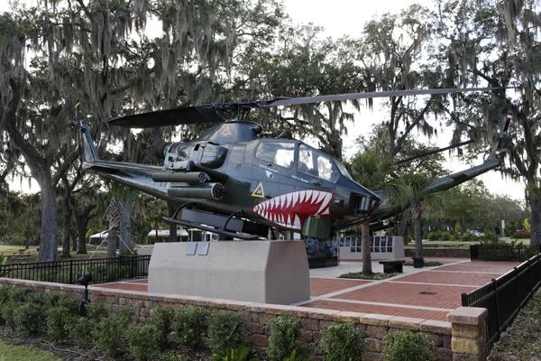 AH-1 Vietnam Veterans Memorial Park in Tampa FL — photo by Joseph May