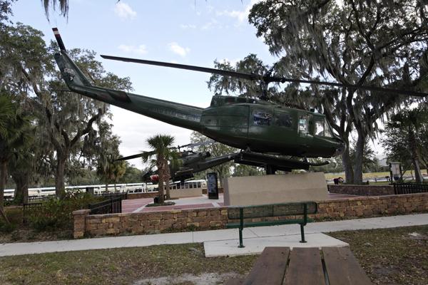 UH-1 Vietnam Veterans Memorial Park in Tampa FL — photo by Joseph May