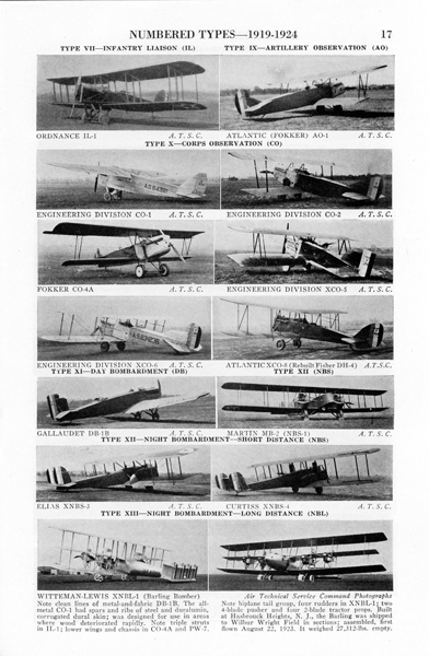 Page 17 of U.S. Army Aircraft 1908–1946 by James C. Fahey