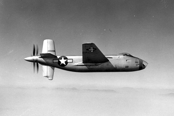 Douglas XB-42A Mixmaster — U.S. Air Force photo