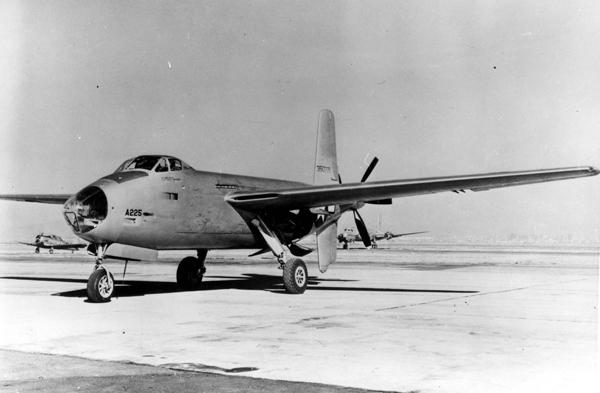 Douglas XB-42A Mixmaster — U.S. Air Force photo