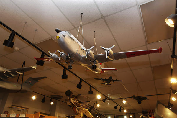 C-124 model McChord Air Museum and Heritage Hill Air Park — photo by Joseph May