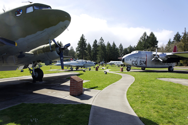 McChord Air Museum and Heritage Hill Air Park — photo by Joseph May