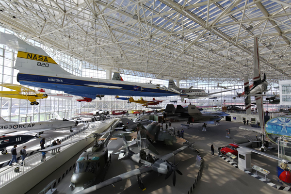 Museum of Flight main hall — photo by Joseph May