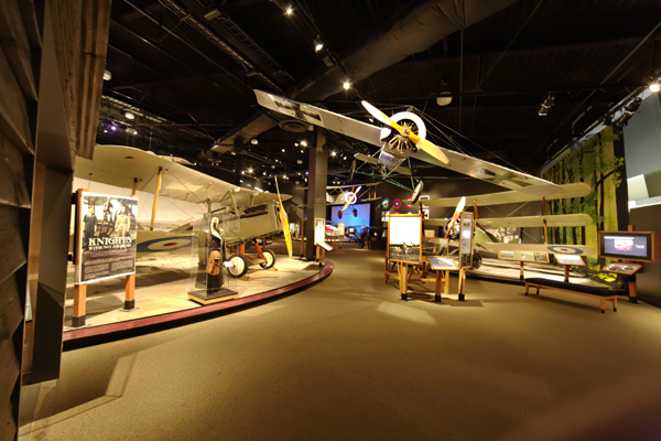 Museum of Flight WW I gallery — photo by Joseph May