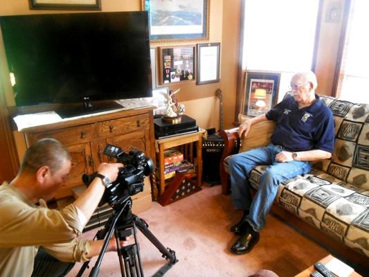 Ed Saylor and Ernie Cutler — photo provided by Gene Fioretti