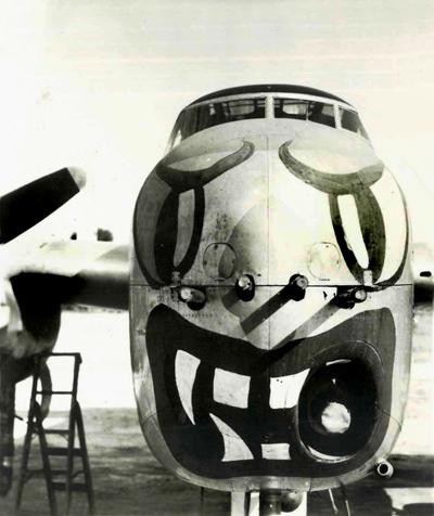 Ernie Cutler's B-25H Mitchell — photo provided by Gene Fioretti