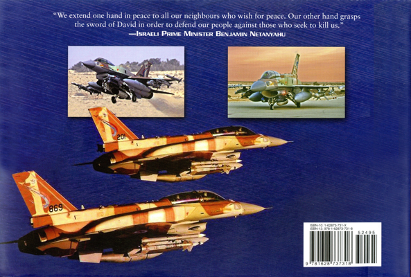 The Sword of David: the Israeli Air Force at War by Donald J. McCarthy Jr. with jacket design by Jon Wilkinson (back cover)