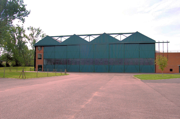 Graham–White Factory at the RAF Museum London — used with permission of Ross Sharp (an copyright holder)