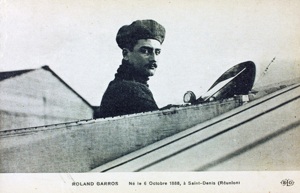 Roland Garros — San Diego Air & Space Museum archive photo