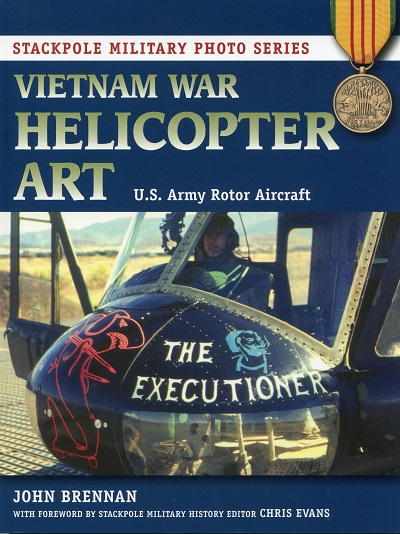 Vietnam War Helicopter Art US Army Rotor Aircraft by John Brennan (front cover)