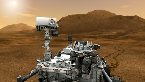 nuclear powered curiosity rover - photo #7