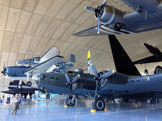 Imperial War Museum at Duxford — photo by Michael Dowman 2013