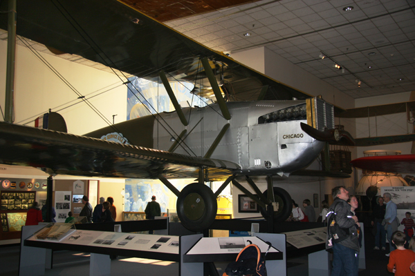 Douglas World Cruiser Chicago at the NASM on the Mall — photo by Joseph May