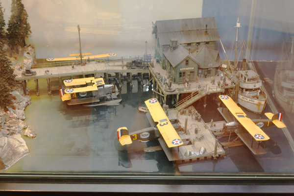 Douglas World Cruise diorama at the North Pacific Trading Co. at the NASM on the Mall — photo by Joseph May