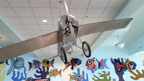 Interpreted Morane-Salnier Monoplane as flown by Domino Rosillo as seen on Key West International Airport — photo by Joseph May