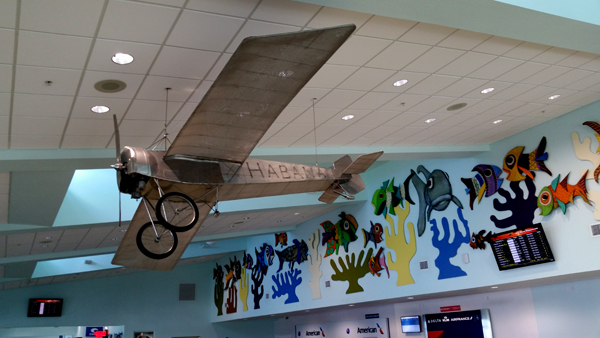 Interpretation of the Morane-Saulnier monoplane flown by Domingo Rosillo — photo by Joseph May